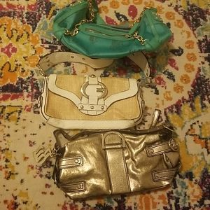 Handbags - 3 bags for $25: BCBG, GUESS & ROCCA WEAR